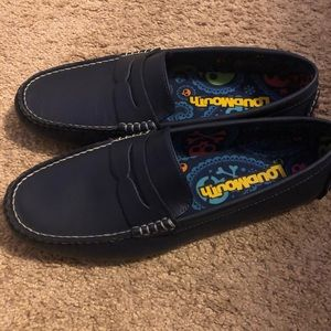 Loudmouth driving loafers
